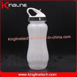 bottiglia di acqua 650ml con il tubo del ghiaccio e della paglia (KL-7077)