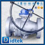 В полной мере16.34 Didtek ASME B порт цапфу Rtj Фланец шарового клапана