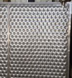 Laser 용접 니스 질 열 교환 격판덮개 보조개 격판덮개