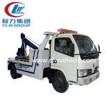 販売のためのDongfeng 4X2の道のレッカー車