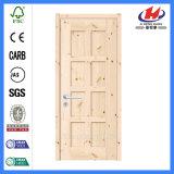 Puerta de madera de la losa del laminado del precio de negocio (JHK-SK06)