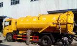 Dongfeng 4X2水クリーニングの手段8000 L下水道の吸引の真空タンクトラック