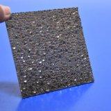 10 Anos de garantia em relevo a Folha de policarbonato sólido para a parede interior