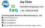 Machine de découpage de découpage de papier sablé manuel hydraulique de presse