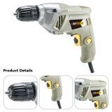 Broca de mão 600W elétrica profissional de Quanlity 10mm