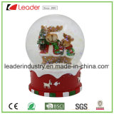 Bottiglia del globo della neve di natale della resina della sfera del globo dell'acqua aperta per i regali della decorazione