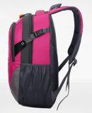 Rouge mâle de grande capacité imperméable à l'eau élégant de Rose de sac d'alpinisme de sac d'épaule de double de la course de sports des femmes coréens extérieurs neufs de sac à dos