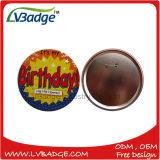 Insigne coloré de bidon de bouton d'impression faite sur commande d'insigne