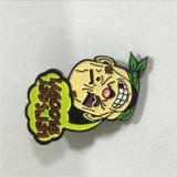 Distintivo su ordinazione di Pin del distintivo del tasto del panno di gioco del calcio per il ricordo