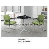 緩和されたガラス(YF-T17010-B)が付いている現代家具様式のコーヒーテーブル