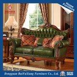 Rui Fu Xiang desmontable, respaldo medio Lujo atrás sofá de cuero para Comedor (N279A/hechas/Fábrica).
