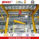 Guindaste de patíbulo manual de articulação de um giro de 360 graus 1 tonelada