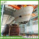 Nave di alta efficienza segmentata Sandblasting le merci in azione