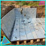 Mischung nach innen mit Edelstahl und Außenseite mit heißes BAD galvanisiertem Bdf Wasser-Becken