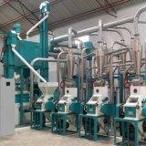 Precios avanzados de la molinería de maíz de Kenia 50t, máquina del molino del maíz