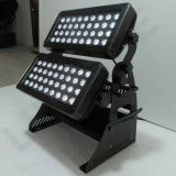 72X10W RGBW 4en1 LED bañador de pared