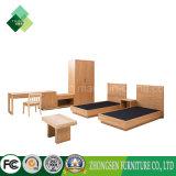 ホテルの寝室のための2017のダブル・ベッドデザインサンプル部屋の家具