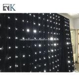 イベントの背景幕LEDの星ライトカーテンのダンスの段階の装飾