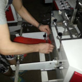800zd機械(1台の機械4機能)を作るフルオートのプラスチックハンド・バッグ