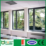 Il doppio ha lustrato la finestra di alluminio della stoffa per tendine per il disegno della costruzione