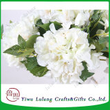 De enige Hydrangea hortensia van de Visie van de Zijde van de Stam bloeit de Vervalsing van de Bloemen van het Huwelijk van Kunstbloemen