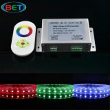 Outdoor RGB LED Flex Strip 120V / 230V 60LEDs / M com controle remoto
