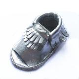Изготовленный на заказ Unisex ботинки Moccasins кожи младенца