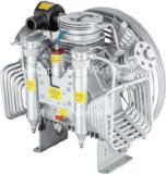 compresor de aire portable del equipo de submarinismo de 225bar 3000psi 3.5cfm para respirar