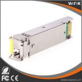 BiDi SFP 1490nm-TX/1550nm-RX 80km 섬유 모듈