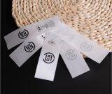 Étiquette tissée par tissu en gros de vêtement de textile des prix d'usine meilleur