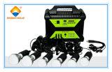 Sistema eléctrico solar portable alto de la eficacia 100W en hogar