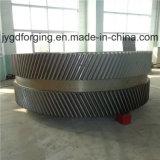 Casted 16mncr5 SAE1045の高品質の鋼鉄ギヤ