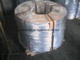 Preto grande do fio de aço da bobina ou fio de aço 500kg/Coil de HDG/HDG