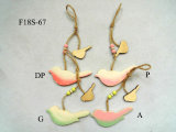 Wood Bird Butterfly Easter Hanger Decoration