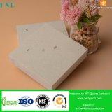 Beige feste Oberfläche ausgeführter Quarz-Stein