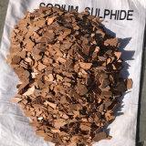 Flocos do sulfureto do sódio de Na2s 60% com o certificado ISO9001
