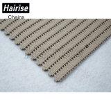 Hairise Plastikförderanlagen-modularer Riemen mit Brown-Farbe