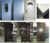 Populaires américaines intérieur unique de porte en acier pré Hung porte métallique (EF-A001)