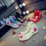 De Schoenen van de Manier van het Canvas van de Schoenen van Chinese Vrouwen