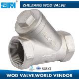 """1/4 """" Y-Tipo industrial de alta calidad filtro del acero inoxidable 304 del tamiz con 800psi"""