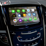 Cadre de navigation de l'androïde 4.4 GPS pour le cadre visuel Waze Youtube de surface adjacente d'ATS de Cadillac