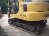 Excavatrice utilisée de KOMATSU d'excavatrice de chenille de KOMATSU PC60-7 mini