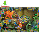 Jogos de tabela de jogo do jogo da pesca da batida do leão do jogo da arcada do caçador dos peixes