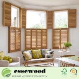 Estrutura Z 2.5 polegadas persianas de plantação de madeira de alta qualidade