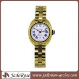 호화스러운 석영 여자 시계 손목 시계 모조 다이아몬드 숙녀 시계