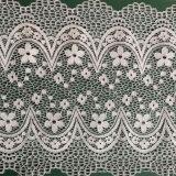 Оптовое белое причудливый сбывание цвета слоновой кости шнурка сетчатой ткани шнурка французское