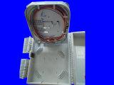 Casella di distribuzione grigia della fibra di memorie di colore 16 di uso esterno impermeabile del grado IP65