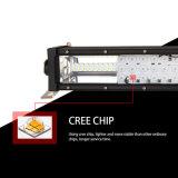 Trois barre tous terrains d'éclairage LED de l'éclairage 22inch 4X4 de la rangée 270W 12V DEL