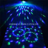 L'effet magique DJ de l'éclairage RVB d'étape de bille de disco de DEL Party l'éclairage avec à télécommande