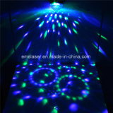 LEDの魔法のディスコの球の段階の照明RGB効果によってDJはリモート・コントロールの照明がパーティを楽しむ